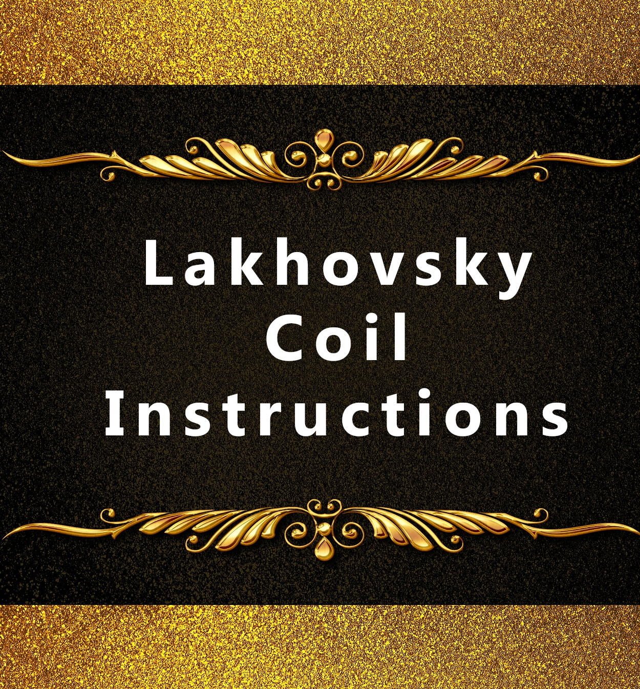 How to make the Lakhovsky Coil for pain relief | Phystonelife